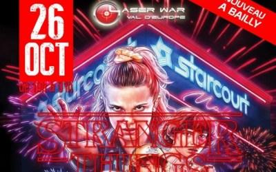 Stranger Things Party au Laser War Val d'Europe le 26 octobre à Bailly-Romainvilliers