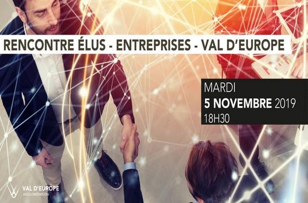 Val d'Europe Agglomération organise sa rencontre annuelle élus-entreprises