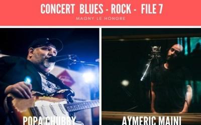 Concert Blues-Rock avec Popa Chubby & Aymeric Maini  le 26 octobre au File 7