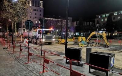 Travaux au centre urbain du Val d'Europe du lundi 21 octobre au vendredi 6 décembre 2019
