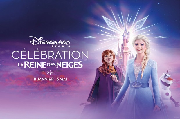 la Célébration de La Reine des Neiges, un voyage enchanté inédit à Disneyland Paris !