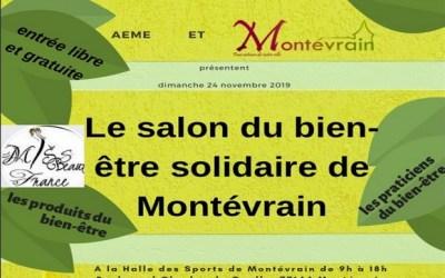 Salon du bien-être solidaire de Montevrain à la Halle des Sports le 24 novembre 2019