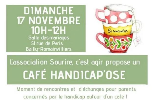 Café Handicap'ose rencontres et échanges parents d'enfants concernés par le handicap