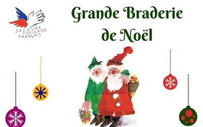 Le Secours Populaire de Bussy organise sa grande braderie de Noël