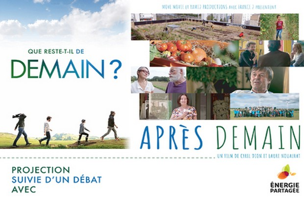 Cinema : le film «Après Demain» projeté à la mairie de Chalifert le 24 novembre