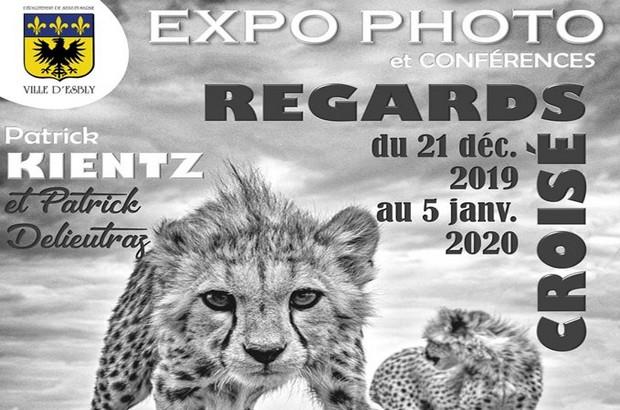 Expo photo Regards Croisés et conférences à la salle Art & Culture d'Esbly