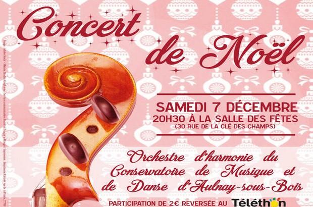 Concert de Noël à samedi 7 décembre à la Salle des Fêtes de Magny le Hongre