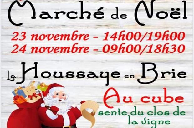Marché de Noël à La Houssaye en Brie les 23 et 24 novembre au Cube