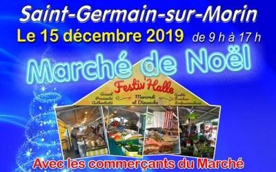 Le Festiv'Halle à Saint Germain accueille le Marché de Noël le 15 décembre 2019