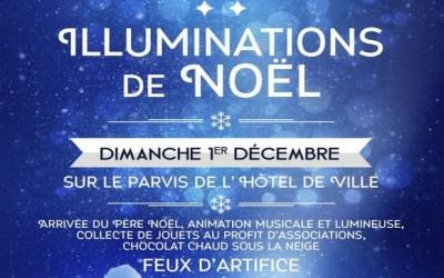 Venez assister au lancement des illuminations de Noël de Serris dimanche 1er décembre