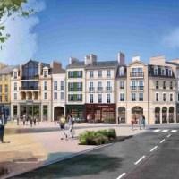 """Programme immobilier neuf Nacarat lance à Serris le quartier """"Au Temps du Faubourg"""""""
