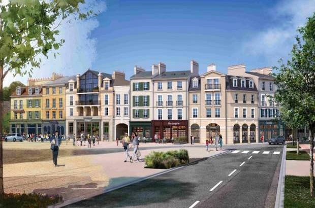Programme immobilier neuf Nacarat lance à Serris le quartier «Au Temps du Faubourg»