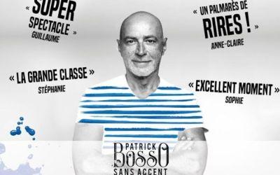 One man show  de Patrick Bosso à la Ferme des Commune de Serris le 16 novembre