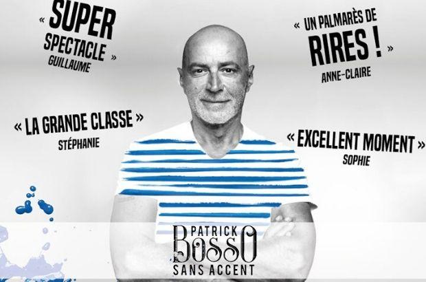 One man show  de Patrick Bosso à la Ferme des Communes de Serris le 16 novembre