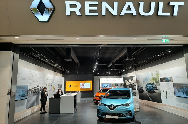 Renault City a ouvert dans le centre commercial de Val d'Europe