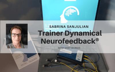"Sabrina Sanjulian Trainer Dynamical Neurofeedback®, ""Garante du bien-être"" à Bussy"