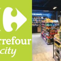 Un magasin Carrefour city Hergé ouvre au Val d'Europe rue d'Ariane à Chessy