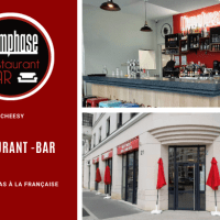 L'emphase, un restaurant - Bar -Tapas ouvre à Chessy au centre urbain du Val d'Europe.