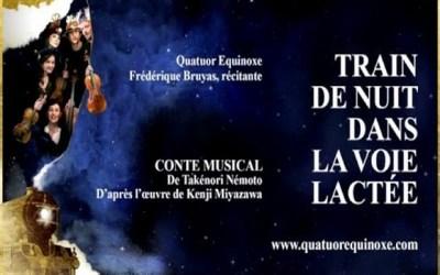 """Conte musical """"Train de Nuit dans la Voie Lactée"""" à la grange du Château de Chessy"""