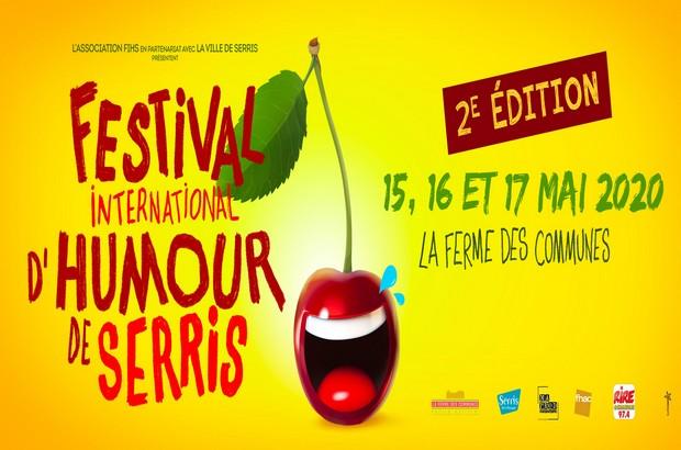 [ANNULÉ] Le Festival International d'Humour de Serris, les 15, 16 et 17 mai 2020