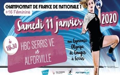 Championnat de France N1, le HBCVE reçoit Alfortville dimanche 11 janvier 2020
