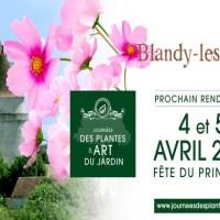 Les Journées des Plantes & Art du Jardin s'installe à Blandy-les-Tours les 4 et 5 avril