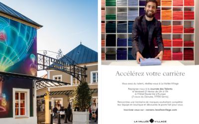 Emploi : Journée des Talents de La Vallée Village à l'Hôtel Elysée Val d'Europe le 21 février