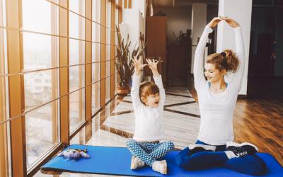 Maman Yogi matinée avec ateliers parent/enfant de yoga le 22 février