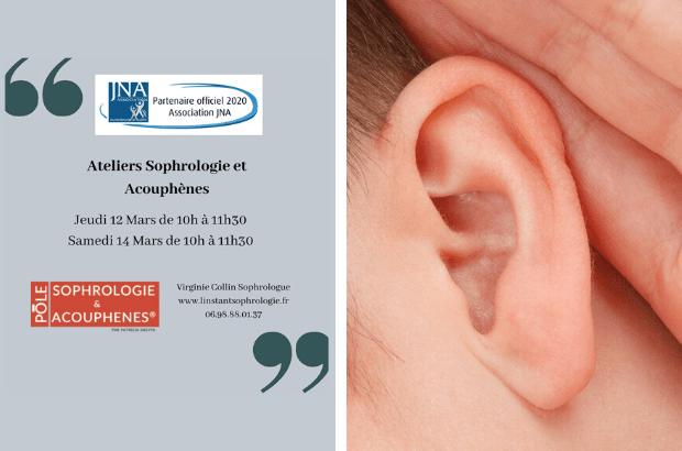 A Chanteloup-en-Brie, ateliers «  Sophrologie et Acouphènes » les 12 et 14 Mars
