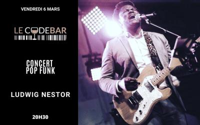 Magny : Concert live pop funk avec Ludwig Nestor au Code Bar le 6 mars