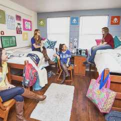 Dorm Room Chair Bungee Brown Hall - Valdosta State University