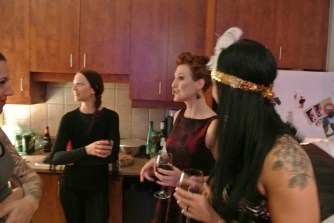 Le party du nouvel an chez François