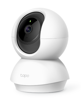 TP-Link C200 Tapo Pan Tilt Wi-Fi Camera, H.264, 1080P, 2-Way Audio, Motion Detect, Night Vision, 2 Years Warranty