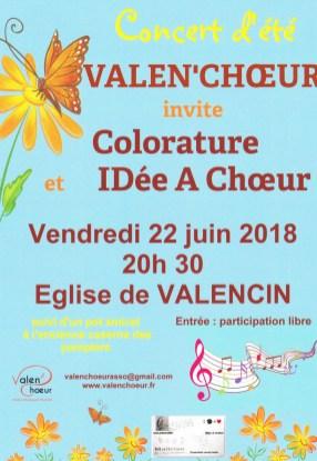 ValenChoeur 22 juin