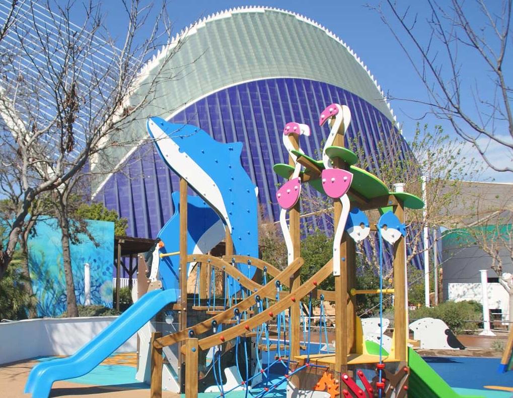 mediterrneo y ocano los parques infantiles del oceanogrfic