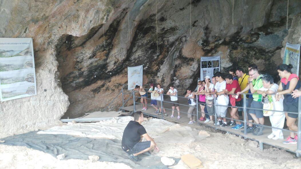 Cova del Bolomor. Fuente: quaderndereflexions.blogspot.com