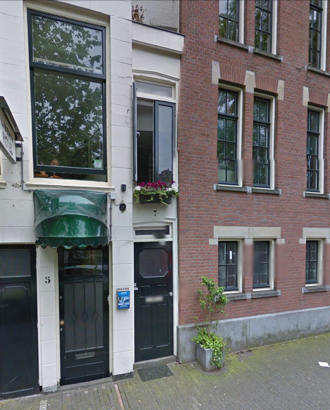 Parte delantera de Singel 7, 1012 Amsterdam, Países Bajos