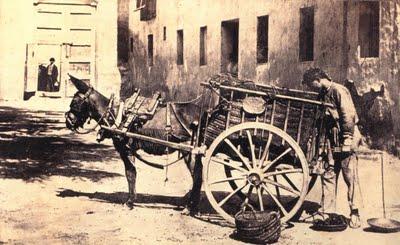 Carbonero en 1880. Fuente: juanansoler.blogspot.com