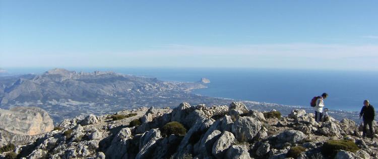 Vista desde el Puig Campana. Fuente: joaquinterres.madteam.net