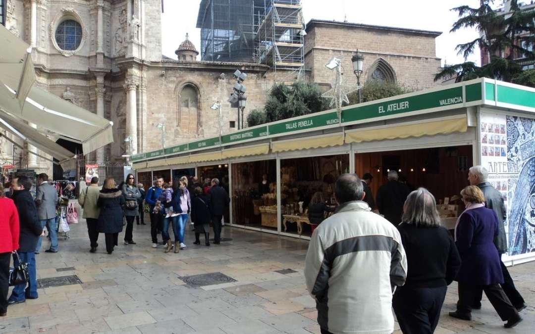 Regresa la Feria de Artesanía de Navidad de Valencia del 1 de diciembre al 7 de enero