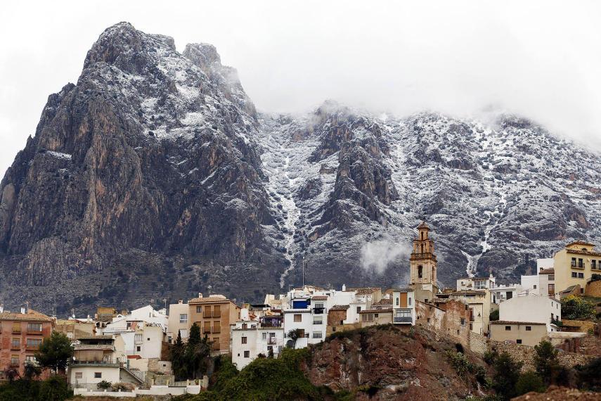 Vista del Puig Campana. Fuente: Las Provincias