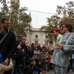 La plaza del ayuntamiento de Valencia se llena de actividades, talleres y conciertos el domingo