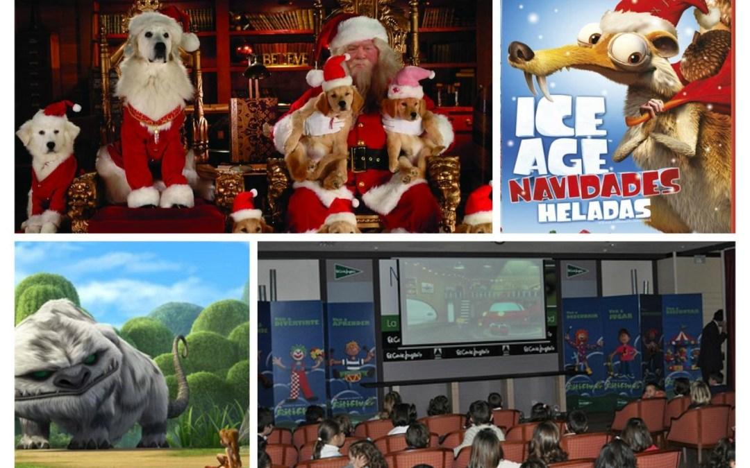 Cine infantil GRATUITO estas navidades en el Corte Inglés de la Avda.Francia