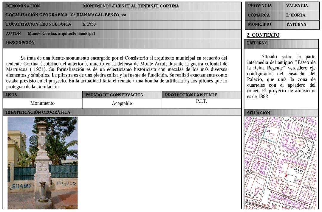Fuente: Archivo Municipal de Paterna