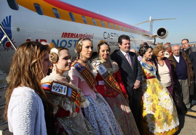 Foto del Avión Fallero de 2012. Fuente: noticias.lainformacion.com