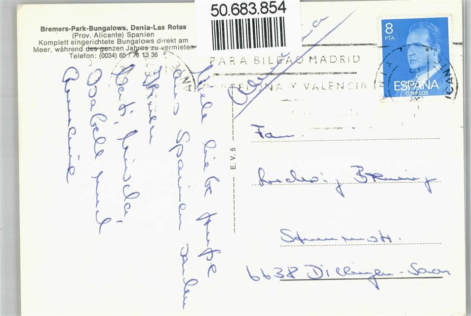 Fuente: ansichtskarten-center.de/spanien-unsortiert