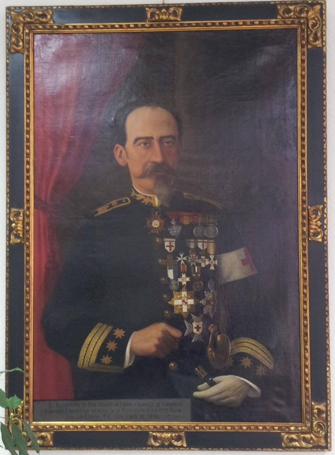 Don Nicasio Landa y Álvarez de Carvallo