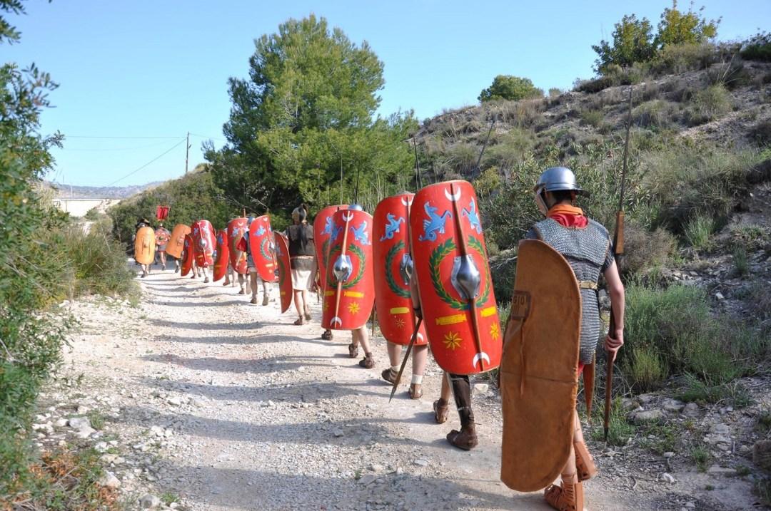 Marcha romana Camí del Peix.