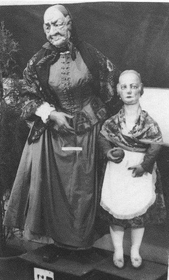 Ninot indultat 1934 en Exposición del Ninot (foto: Biblioteca Valenciana).