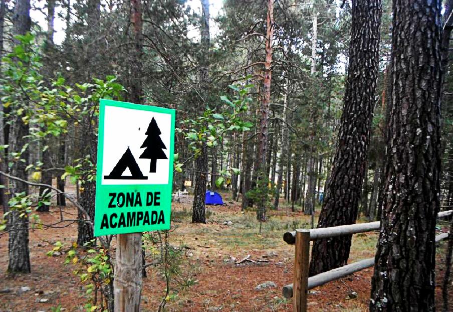 Zonas de acampada en la Comunidad Valenciana